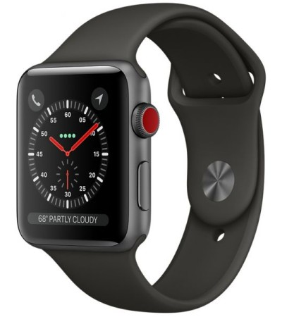 Apple Watch Series 3 38mm MR2W2 GPS+Cellular SPACE GRAY