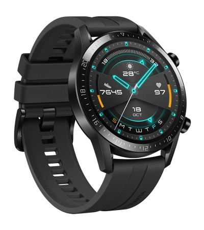 HUAWEI Smartwatch Watch GT 2 46mm Matte Black  LTN-B19